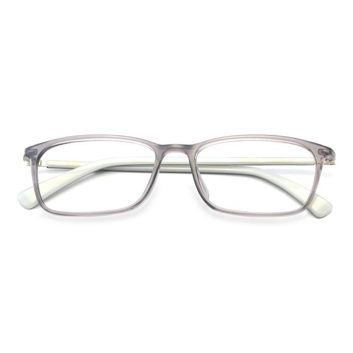 HAN TR板材光学眼镜架-低调浅灰(HD49152-F16)