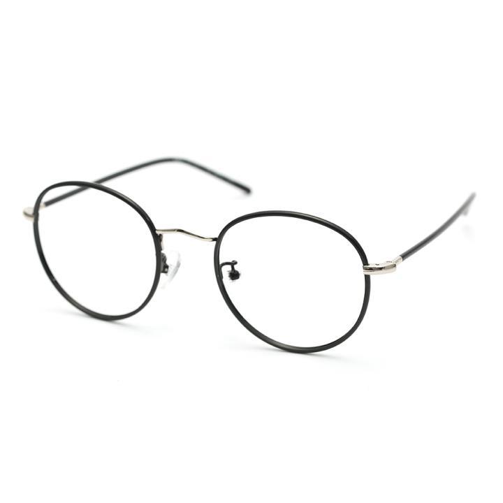 HAN COLLECTION光学眼镜架HN42077M C1 亮黑