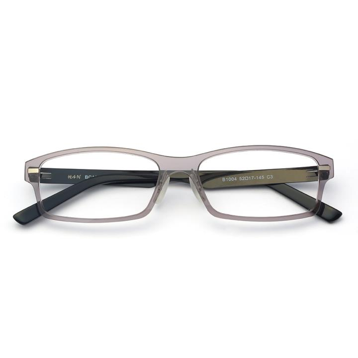 HAN尼龙不锈钢光学眼镜架-低调枪灰(B1004-C3)