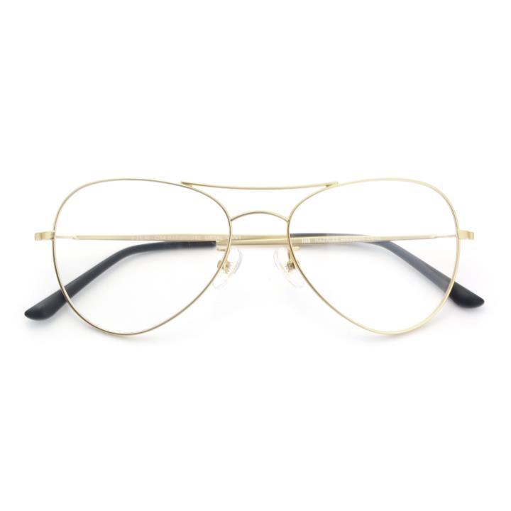 HAN RAZR-X9不锈钢太阳眼镜架-金框(HN52005 C6/M)可配近视镜片