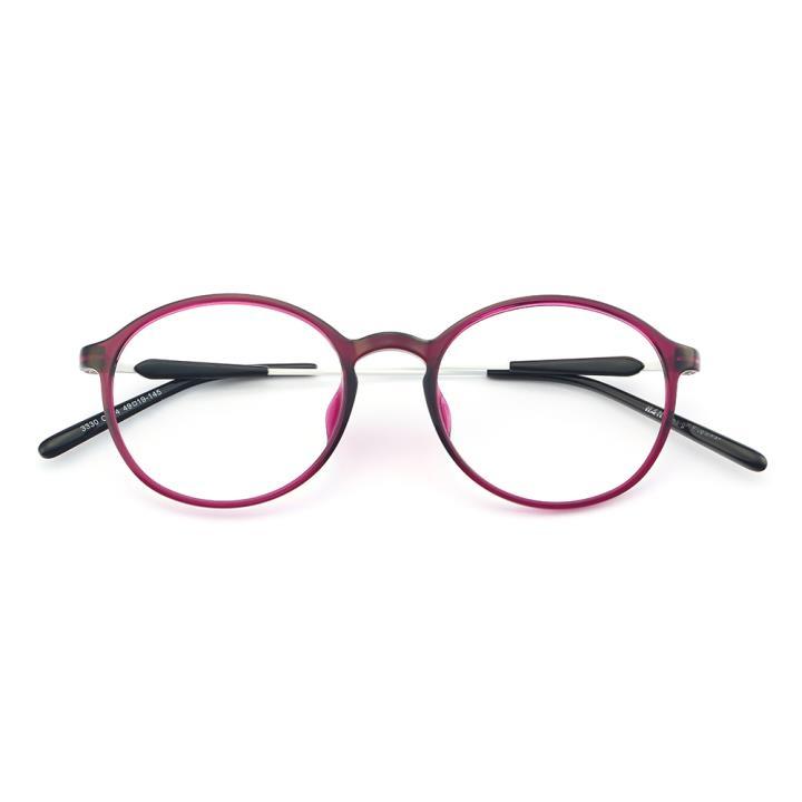 HAN MEGA-TR钛塑光学眼镜架-绚丽酒红(3330-C4)