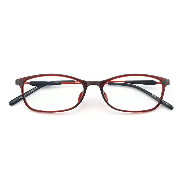 HAN MEGA-TR钛塑光学眼镜架-绚丽酒红(3334-C3)