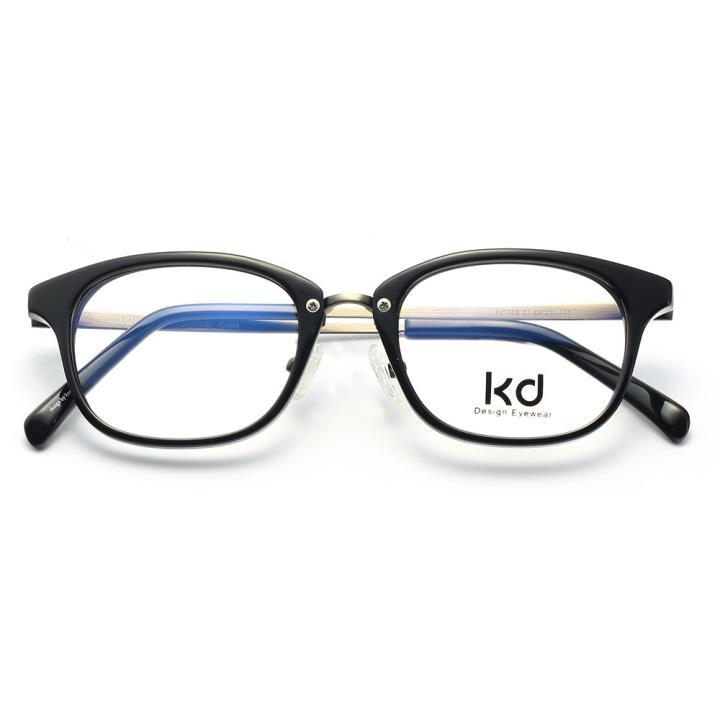 KD设计师手制板材金属眼镜kc7008-C01