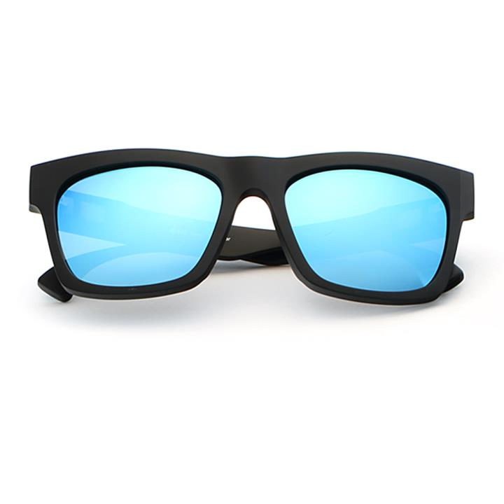 HAN MEGA-TR钛塑偏光太阳镜-黑框蓝色片(HD59305-S07)