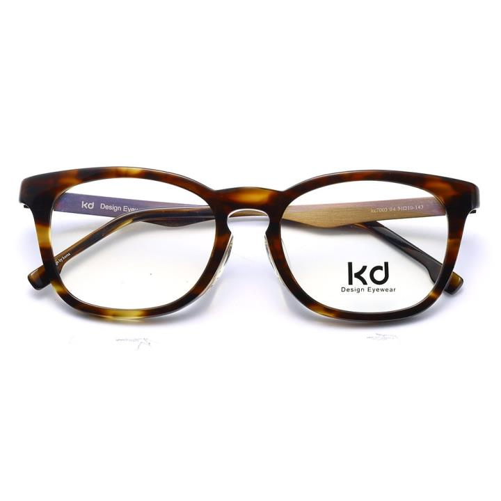 KD设计师手制板材金属眼镜kc7005-C04