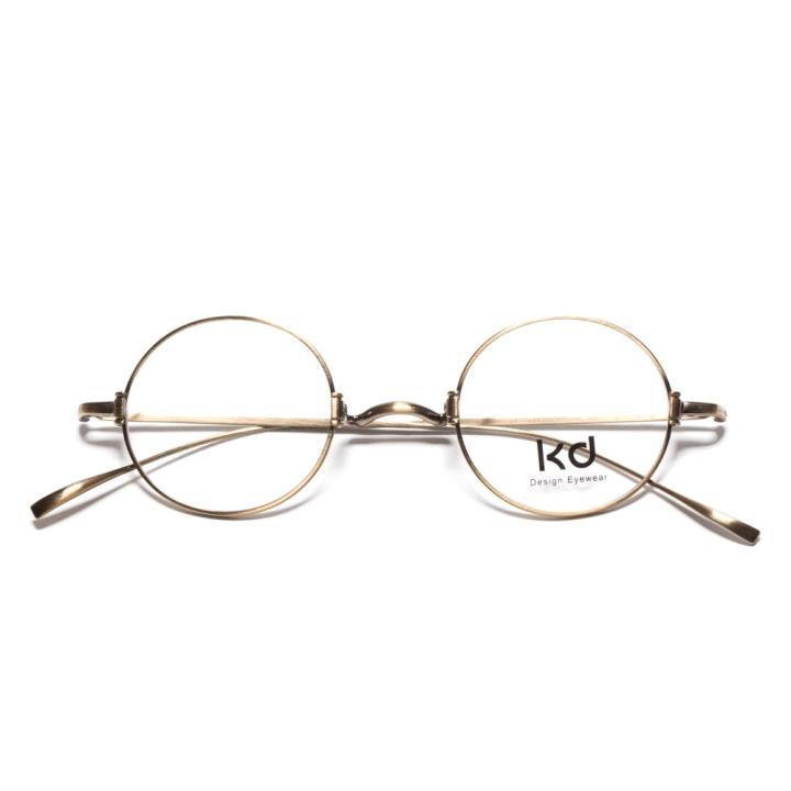 KD复古光学眼镜KD1433-F14  铜色