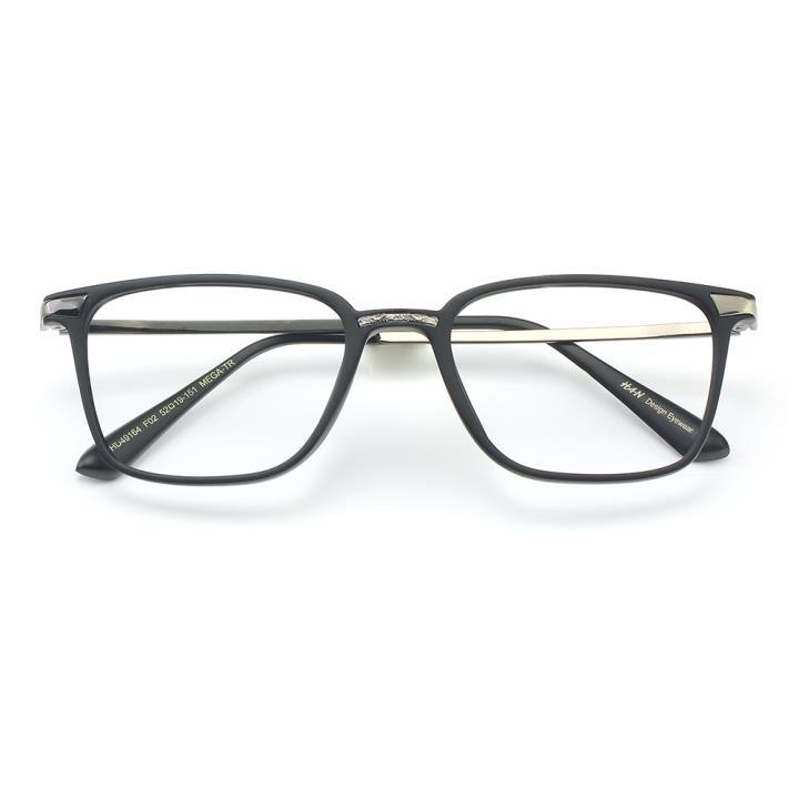 HAN MEGA-TR钛塑光学眼镜架-哑黑色(HD49164-C2 )