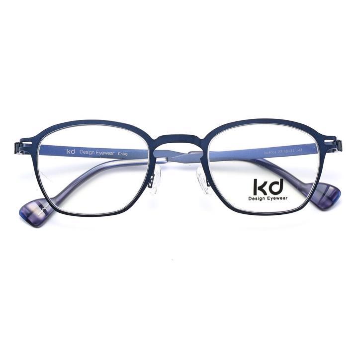 KD设计师金属眼镜kc4001-C07