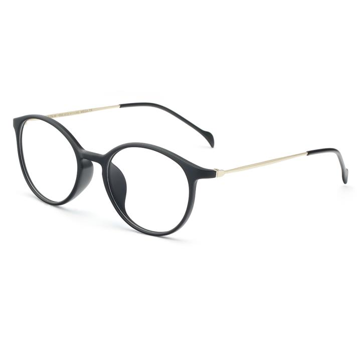 HAN COLLECTION TR钛塑光学眼镜架-哑黑色(HN43002 C2)