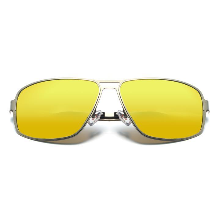 HAN不锈钢板材防紫外线太阳镜-枪框金色片(HD5903-S18)