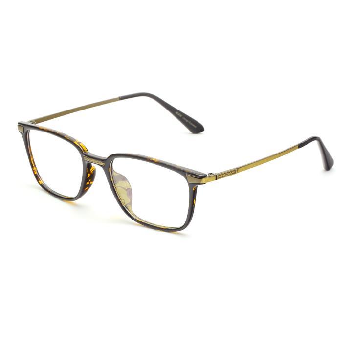 HAN MEGA-TR钛塑光学眼镜架-亮黄玳瑁(HD49164-C3 )