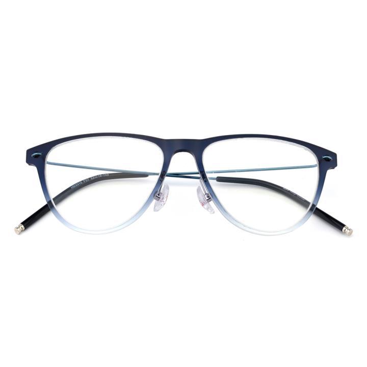 HAN时尚光学眼镜架-渐进蓝(HD3310-F07)