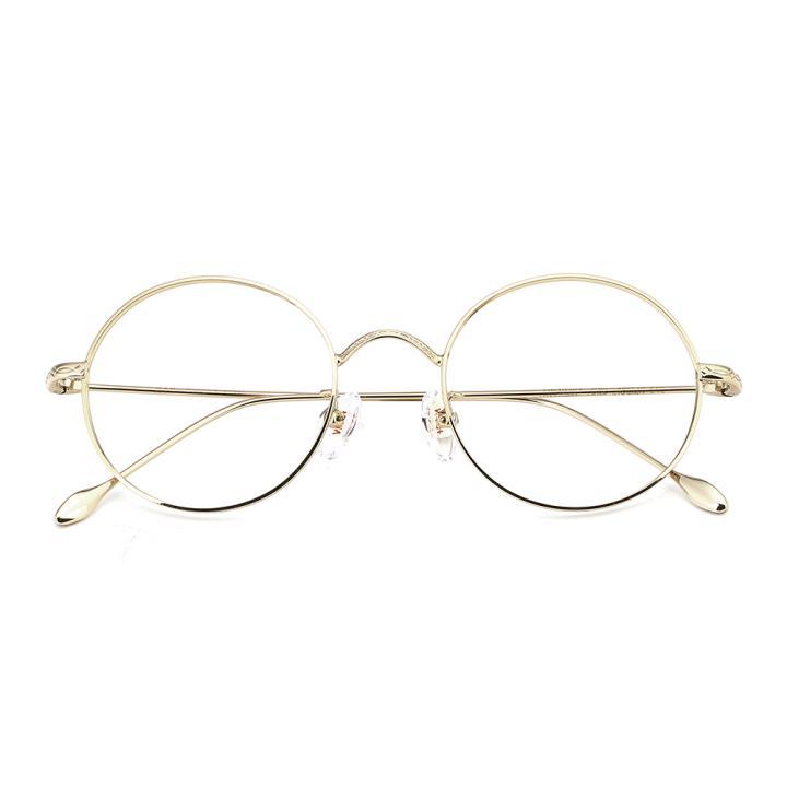 HAN合金光学眼镜架-华丽亮金(HN49361-C02)