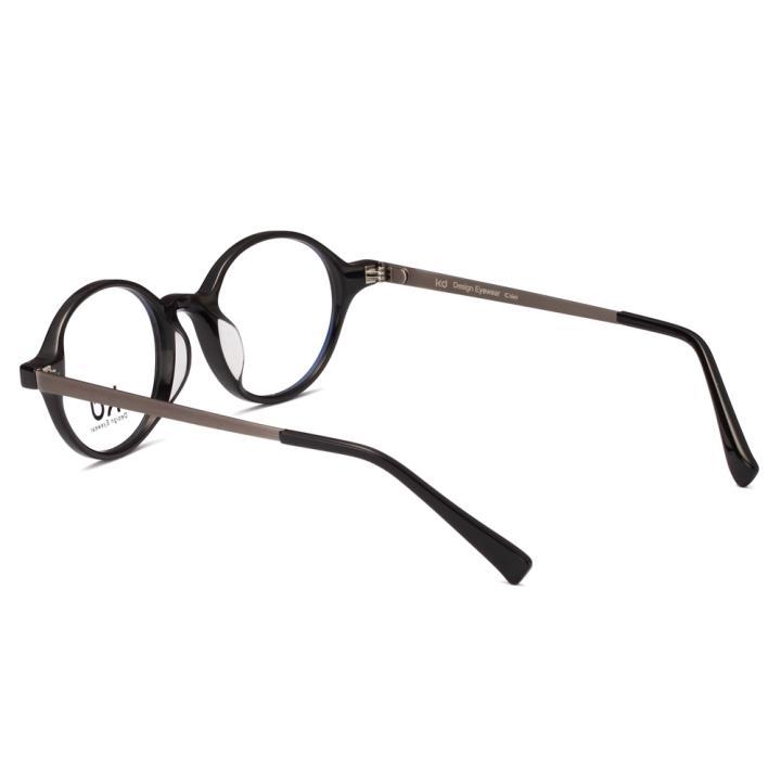 KD设计师手制板材金属眼镜kc7004-C01