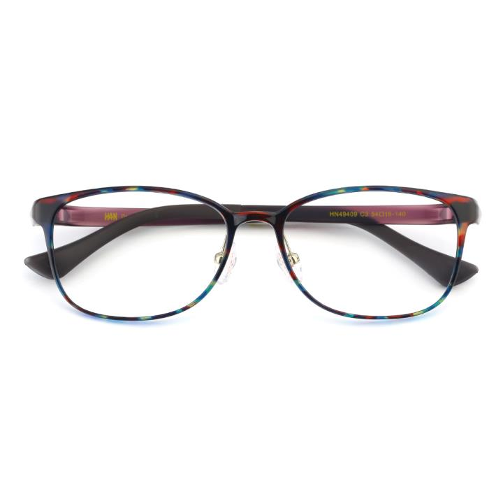 HAN TR光学眼镜架-玳瑁色(HN49409-C3)