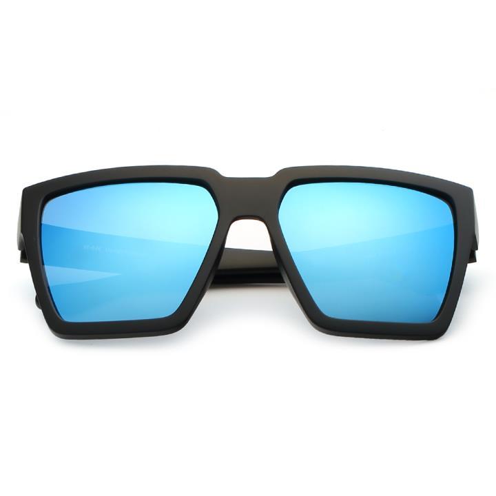 HAN时尚偏光太阳镜HD59307-S09 黑框冰蓝片