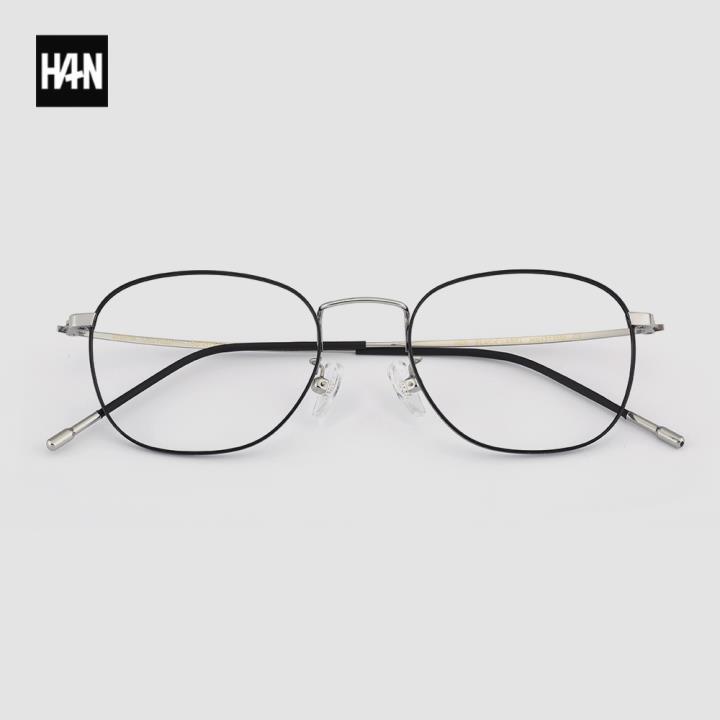 HAN BLACK LABEL光学眼镜架HN42135M C2黑银