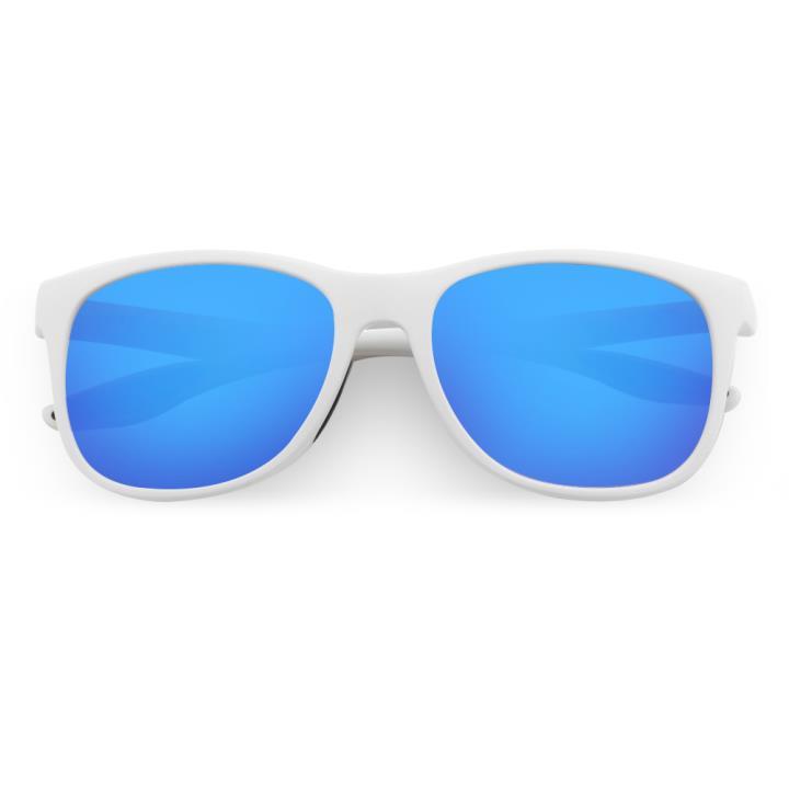 HAN TR偏光太阳镜-白框镀膜蓝(HN59411-C4)