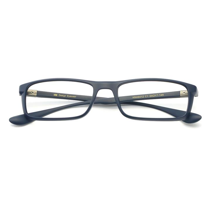 HAN MEGA-TR钛塑光学眼镜架-清湛深蓝(HN49412-C1)