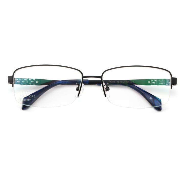 HAN时尚光学眼镜架J81551-C4经典纯黑