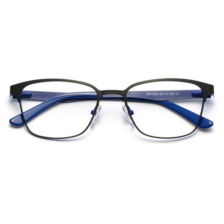 HAN时尚光学眼镜架HD4839-F07 蓝色黑框