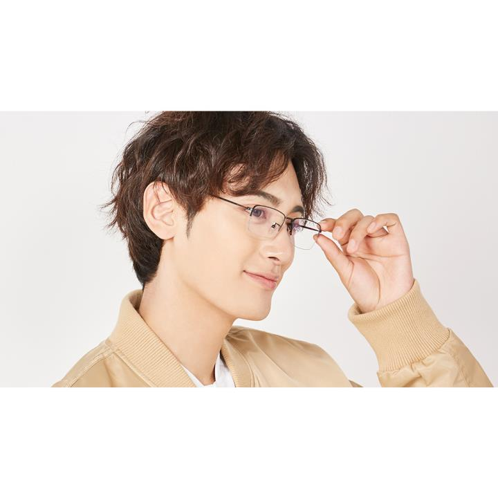 HAN COLLECTION纯钛 光学眼镜架HN41115M  C01 哑黑