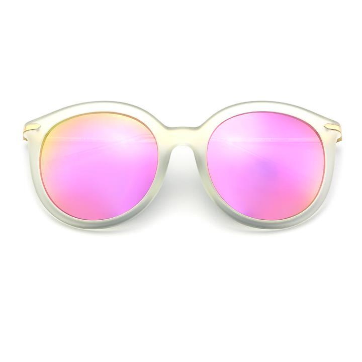 HAN MEGA-TR钛塑偏光太阳镜-透明粉色片(HD5811-S22)