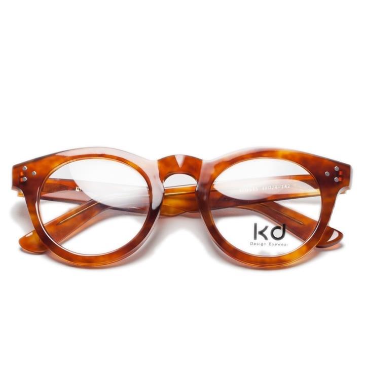 KD时尚光学眼镜架KD1515-C5  咖啡色