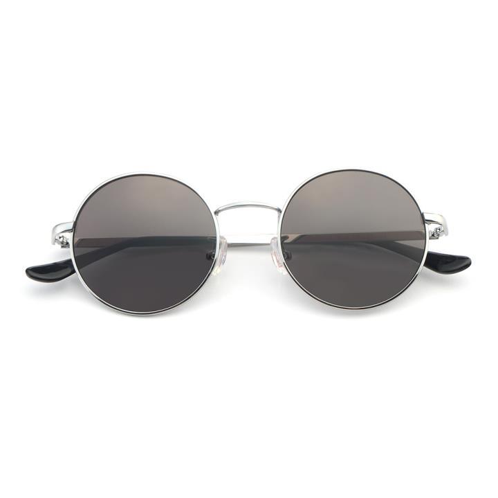 HAN 合金防紫外线太阳镜-银框灰片(HD59107-S09)