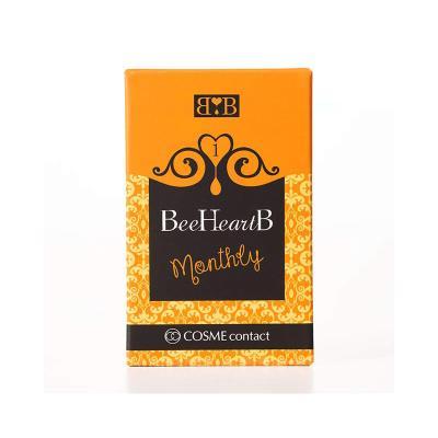 SHO-BI   BeeHeartB月抛型美妆彩片1片-ChocolatBrown