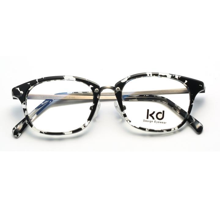 KD设计师手制板材金属眼镜kc7008-C10
