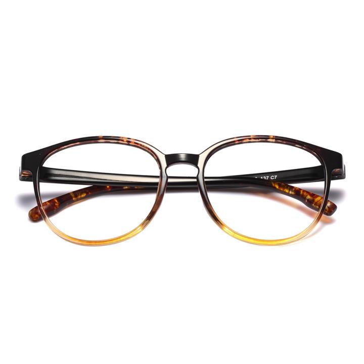 HAN MEGA-TR钛塑近视眼镜架-玳瑁色(HD3103M-F03)