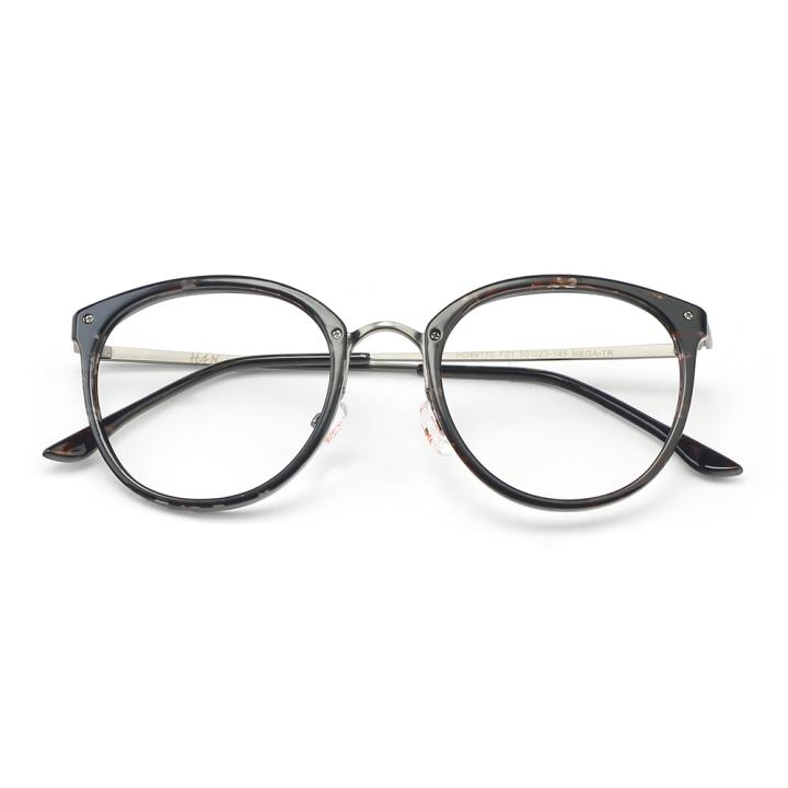 HAN MEGA-TR钛塑光学眼镜架-深玳瑁(HD49170-C1)