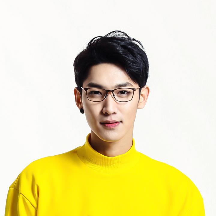 HAN时尚光学眼镜架HD3505-F04 黑棕色