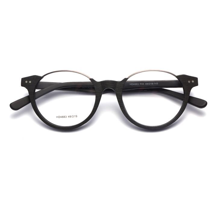HAN时尚光学眼镜架HD4883-F03 经典亮黑