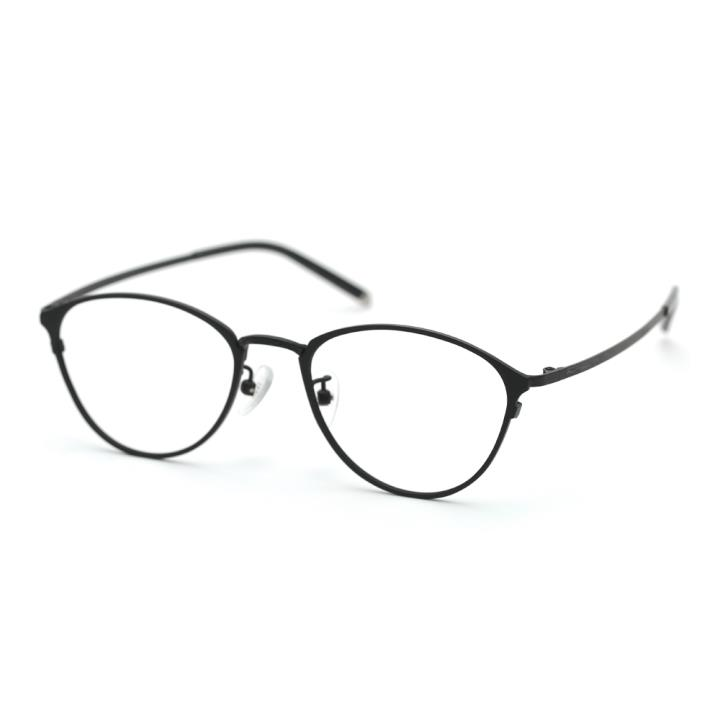HAN COLLECTIO纯钛光学眼镜架HN43006 C1 哑黑