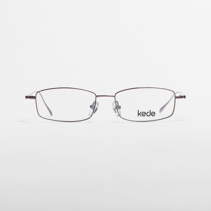 Kede时尚光学眼镜架Ke1412-F14  铜色