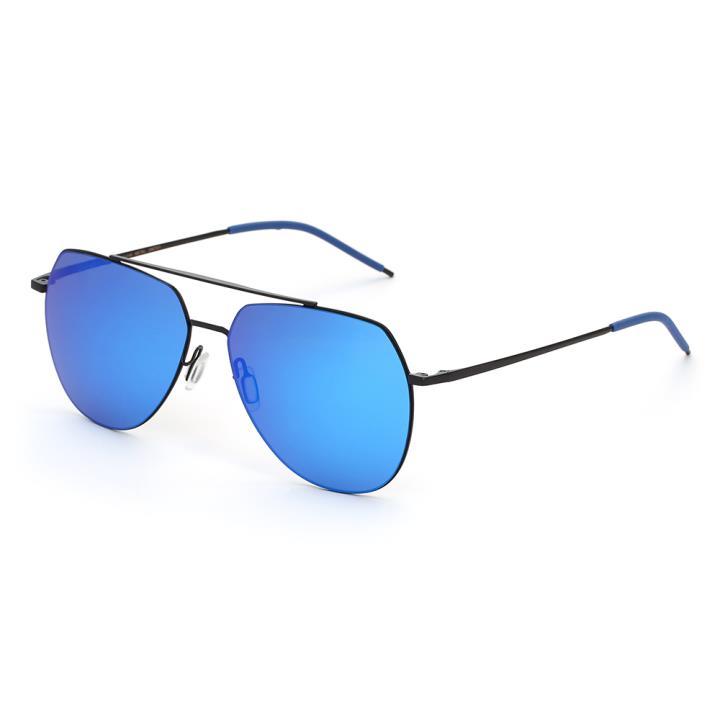 HAN SUNGLASSES防UV太阳眼镜HN52049M C3 黑框蓝色片