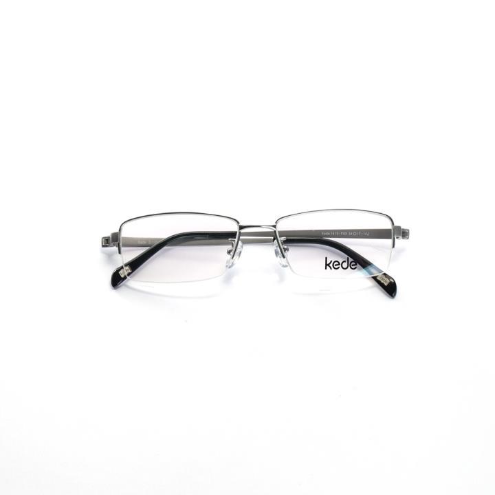 Kede时尚光学眼镜架Ke1419-F09  银色