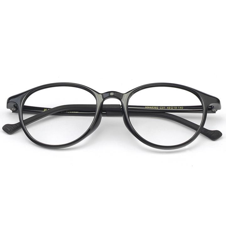 HAN MEGA-TR钛塑光学眼镜架-经典亮黑(HN48392-C01)