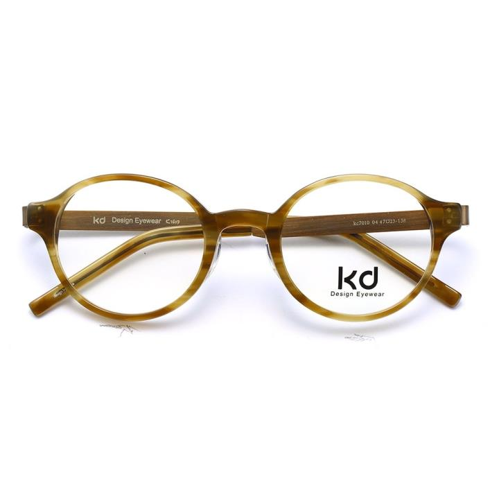 KD设计师手制板材金属眼镜kc7010-C04