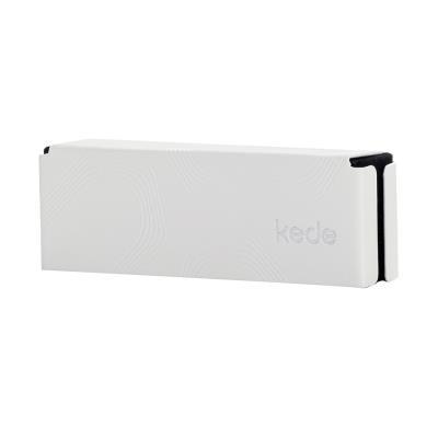 kede字母系列高档手工眼镜盒(颜色随机)