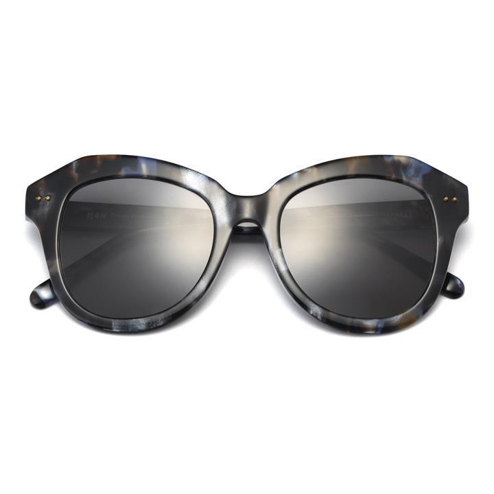 HAN RAZR-X9板材防UV太阳眼镜-蓝玳瑁黑灰片(HD59210-S03)