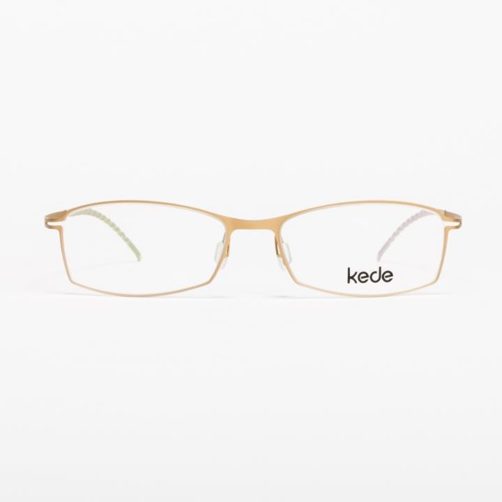 Kede时尚光学眼镜架Ke1423-F18 金色