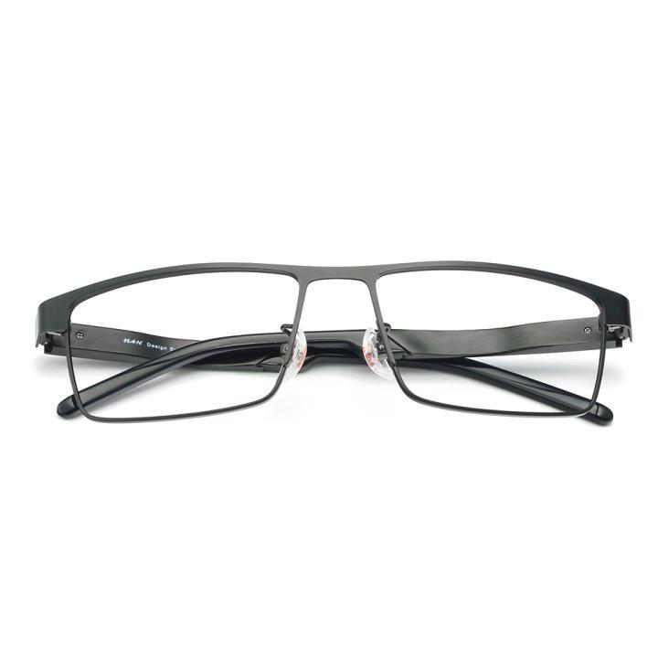 HAN铝镁合金光学眼镜架-哑黑(HD49311-F01)