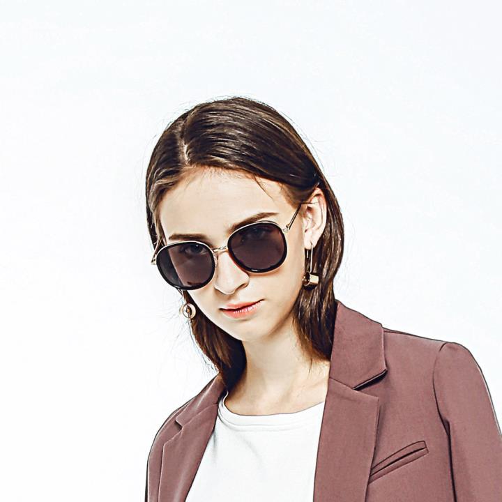 HAN RAZR-X9防UV太阳眼镜-黑框橘色片(HD59204-S01)