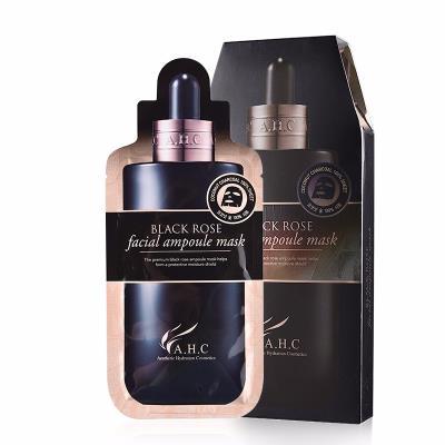 韩国AHC黑美人面膜系列黑玫瑰面膜 5片/盒  海淘专享