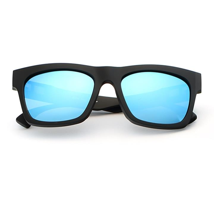 HAN MEGA-TR钛塑偏光太阳镜-黑框冰蓝片(HD59305-S09)