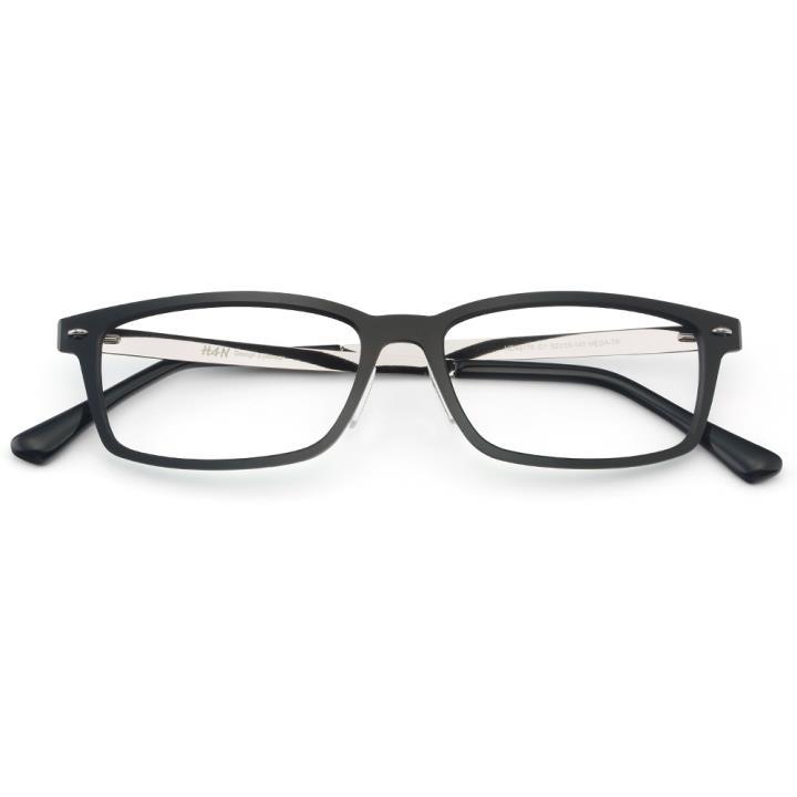 HAN 尼龙光学镜架-纯黑色(HD49176-C1)