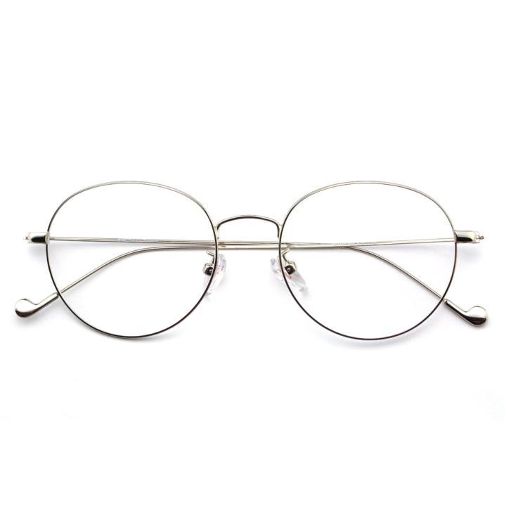 HAN时尚光学眼镜架HD4840-F08 银色